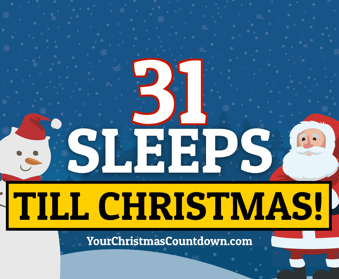 Days Until Christmas 2020 Mountain Time Your Christmas Countdown 2020 | Days Until Christmas | Sleeps To Xmas