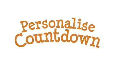 personalise xmas countdown personalise this countdown to christmas