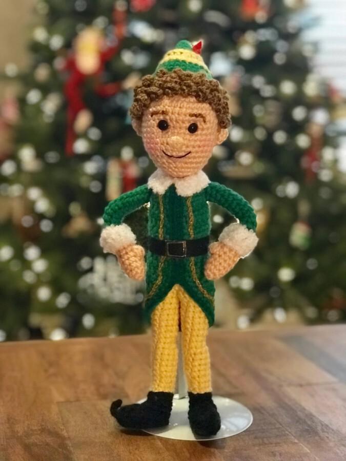 Buddy The Elf Christmas Countdown 2021 Buddy The Elf Doll Crochet Pattern Yourchristmascountdown Com
